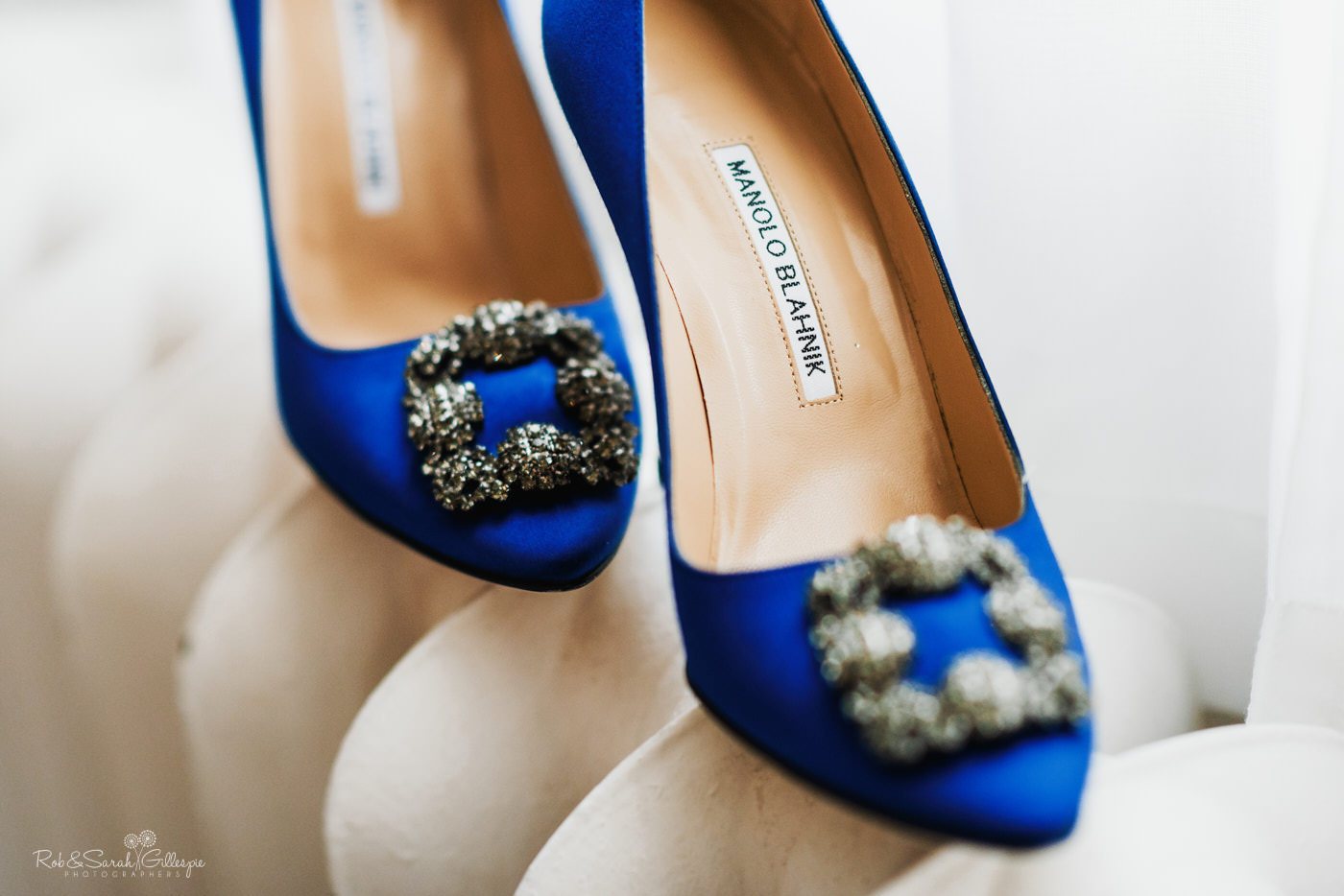 Manolo Blahnick wedding shoes