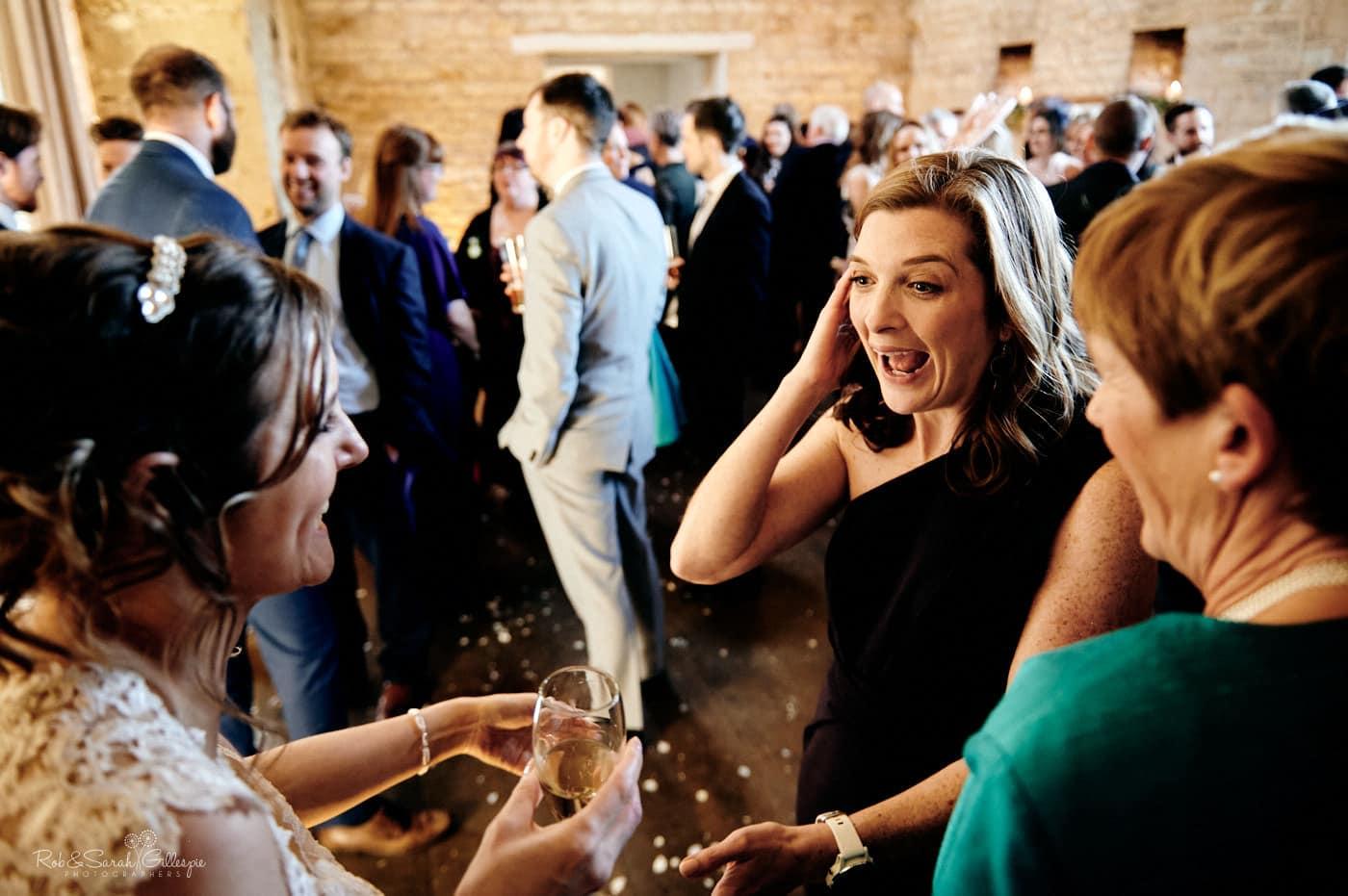 Wedding reception at Lapstone Barn
