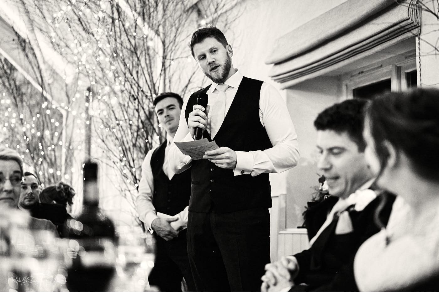 Wedding speech from Best Man