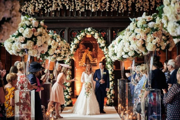Wedding at Peckforton Castle