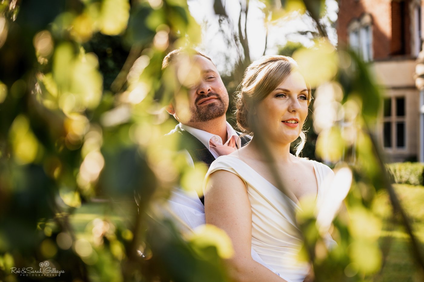 Wedding couple photos at Pendrell Hall
