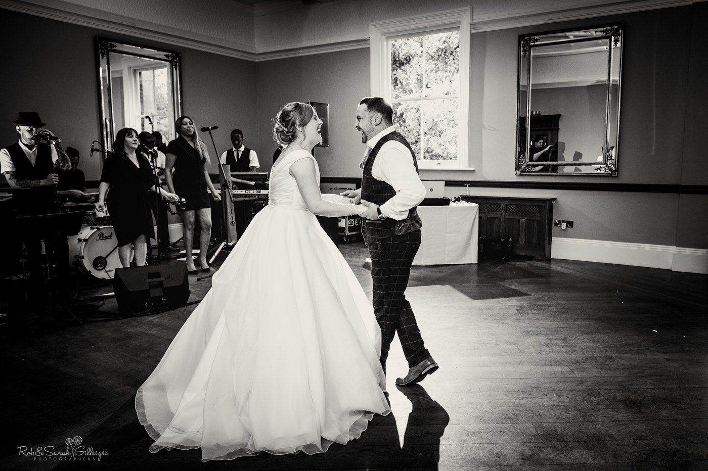First dance at Pendrell Hall wedding