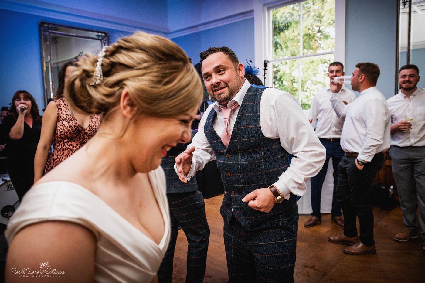 Wedding dancing at Pendrell Hall