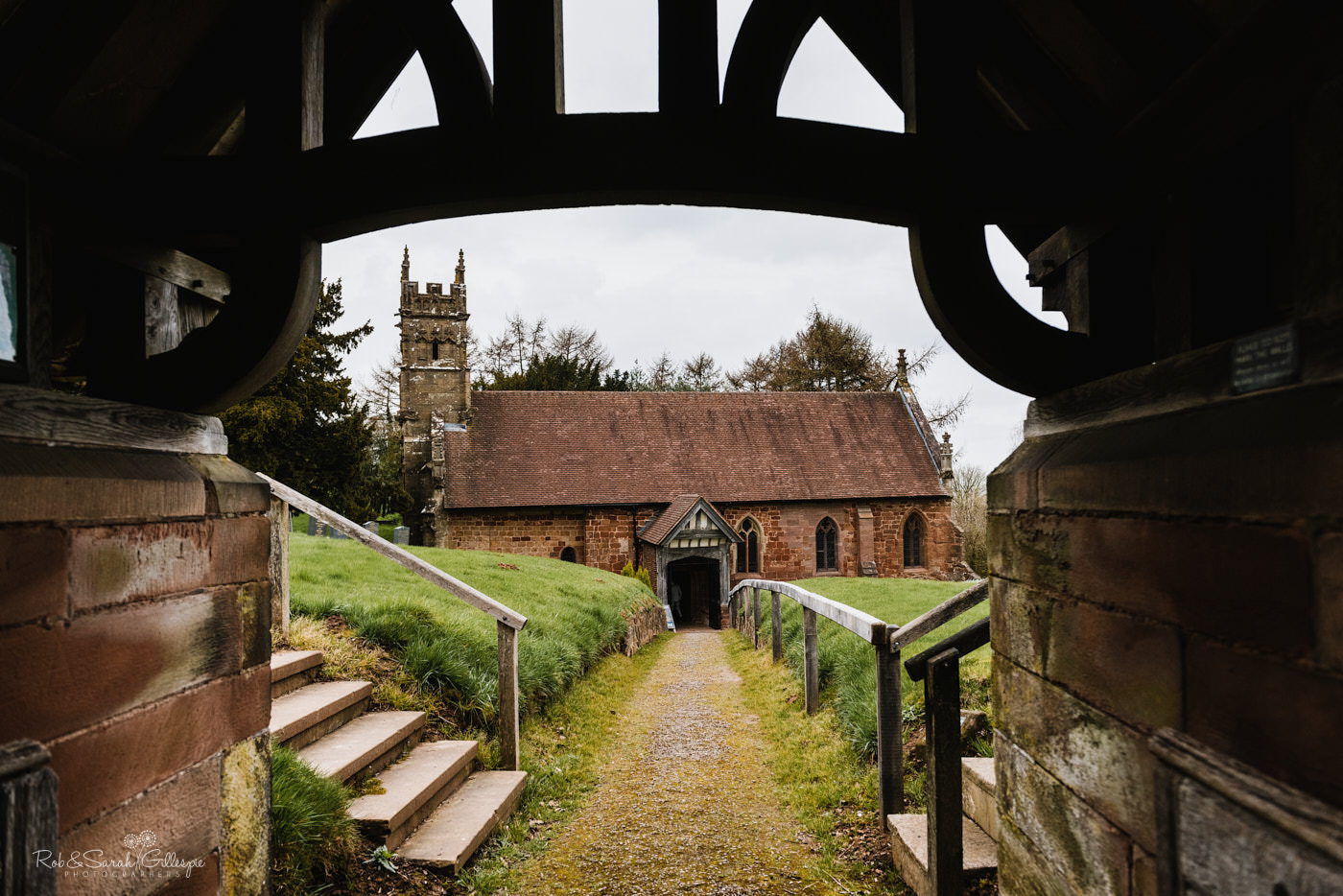 St Kenelm's church in Romsley, Worcestershire