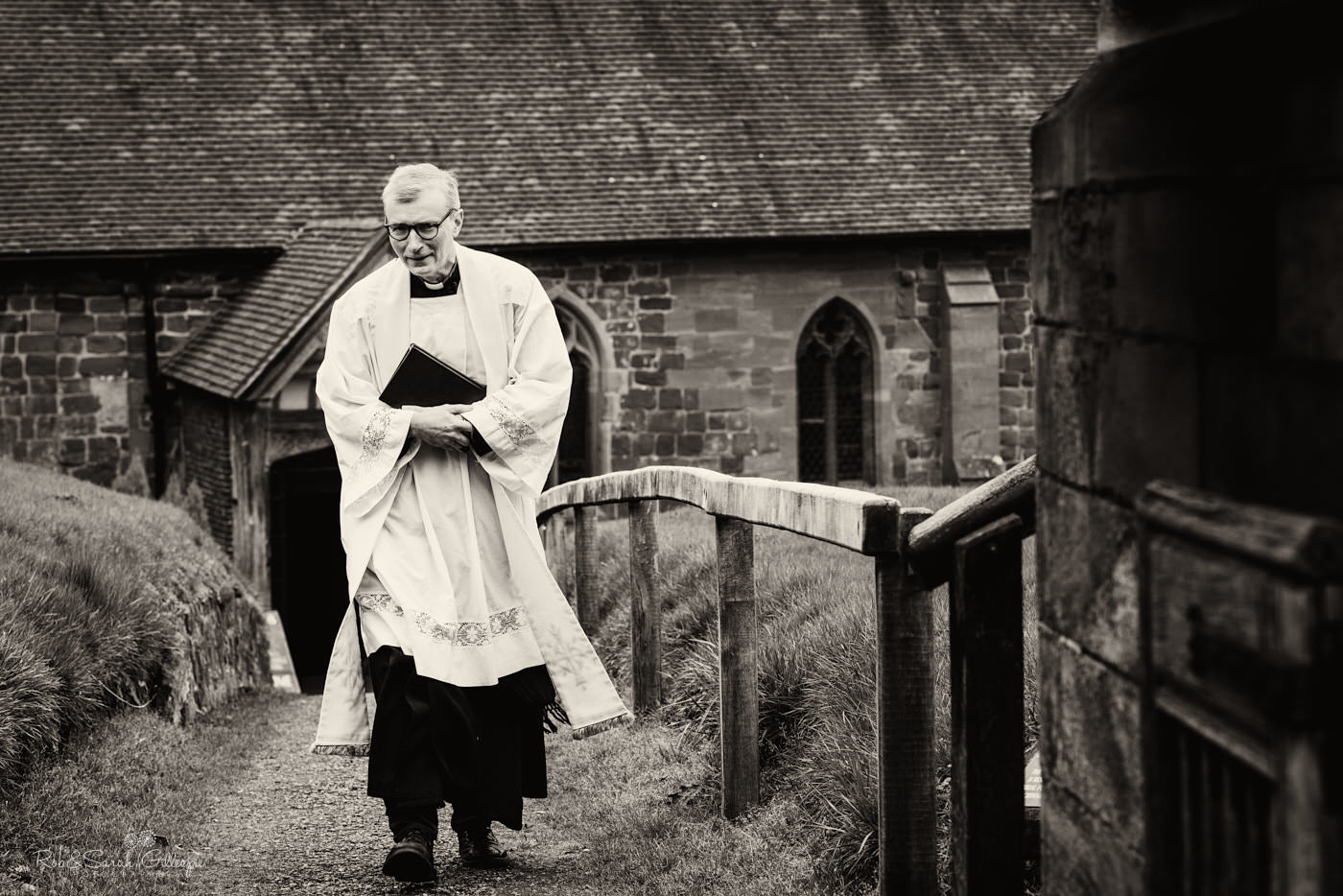 Vicar waits for bride at St Kenelm in Worcestershire