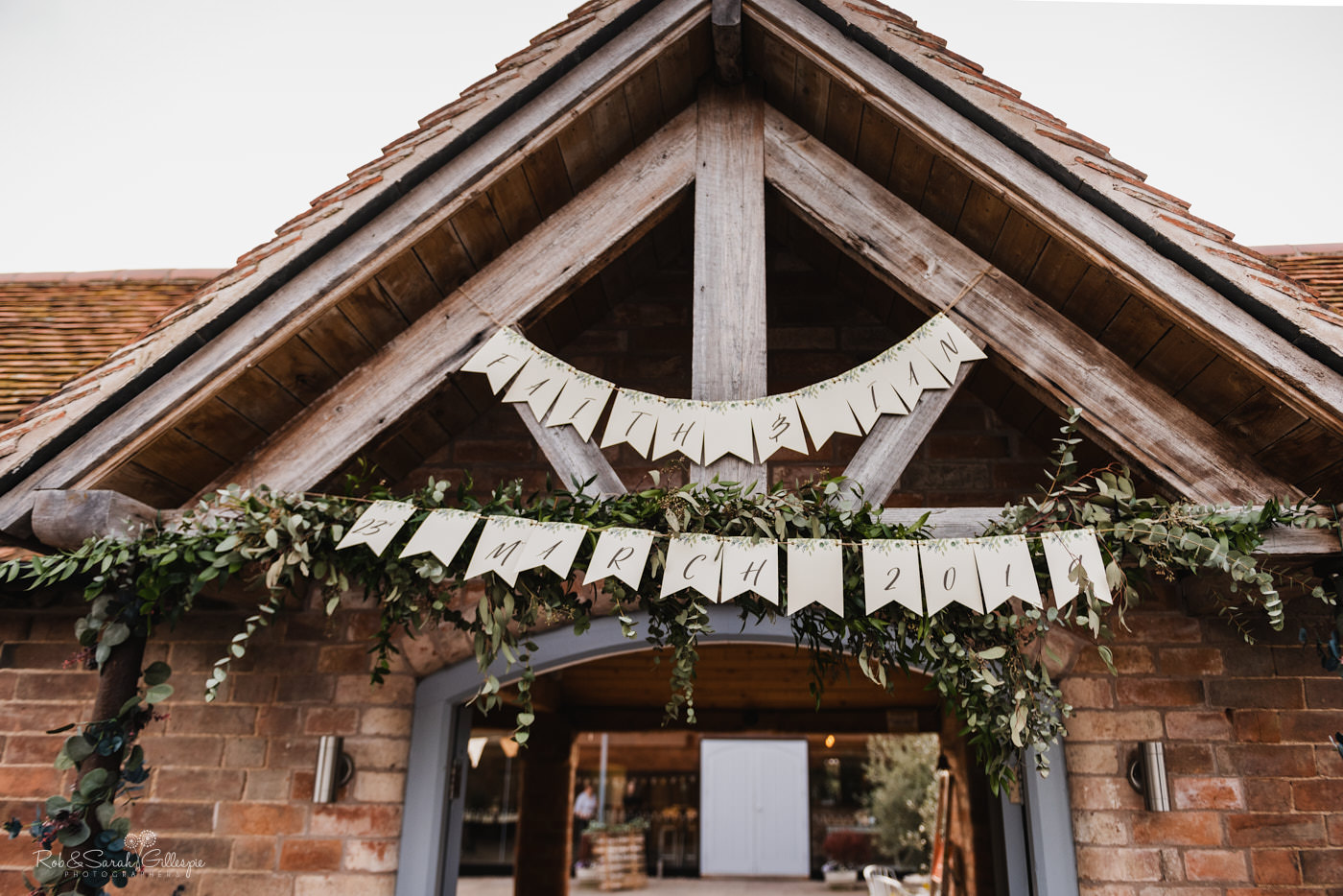 Swallows Nest Barn wedding venue in Warwickshire