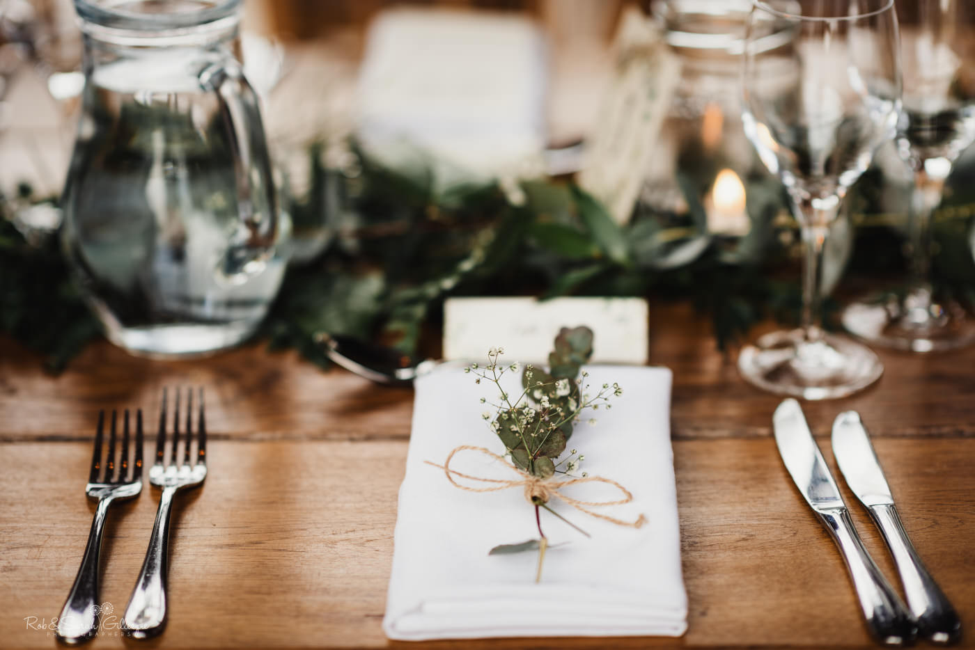 Wedding details at Swallows Nest Barn