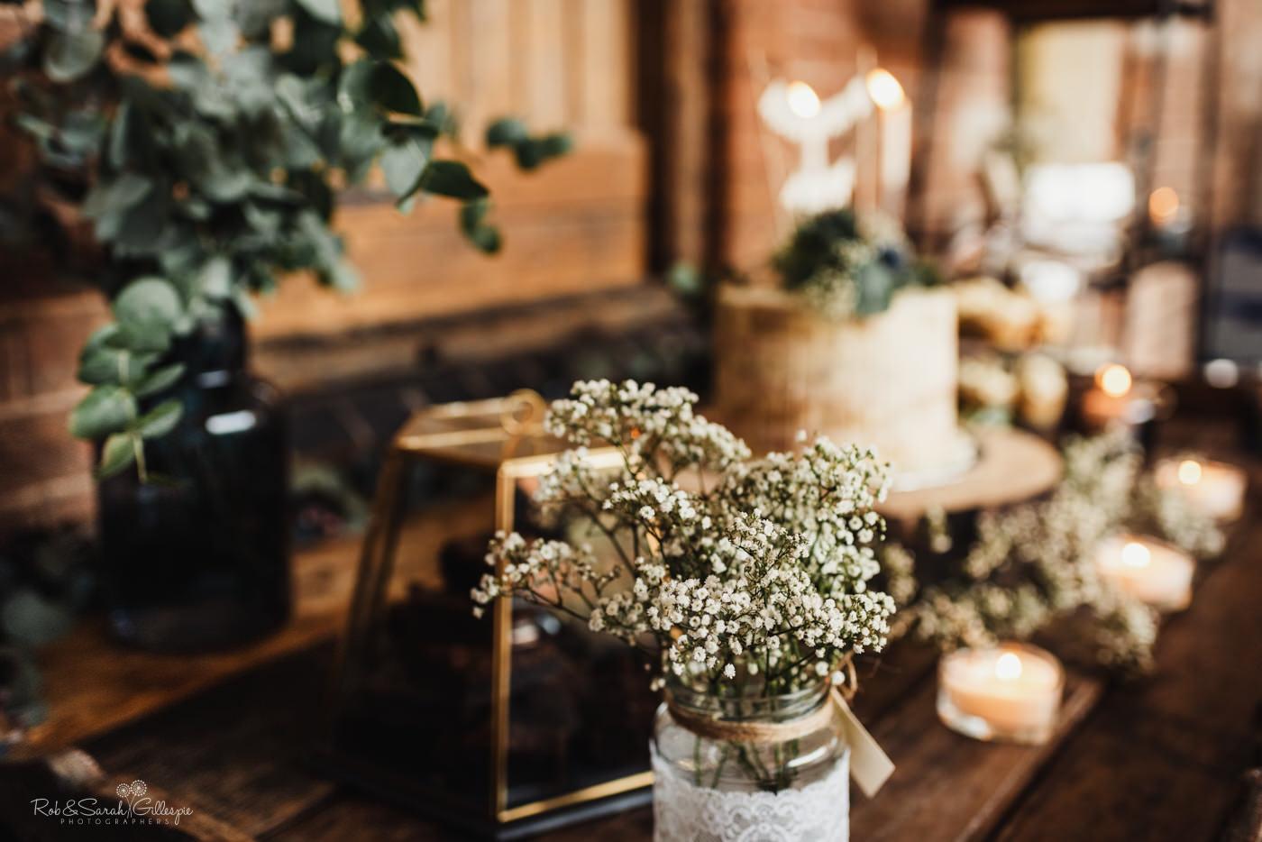 Swallows Nest Barn wedding details