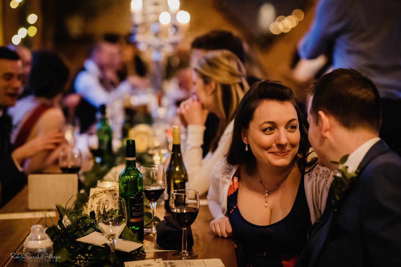 Swallows Nest Barn wedding reception