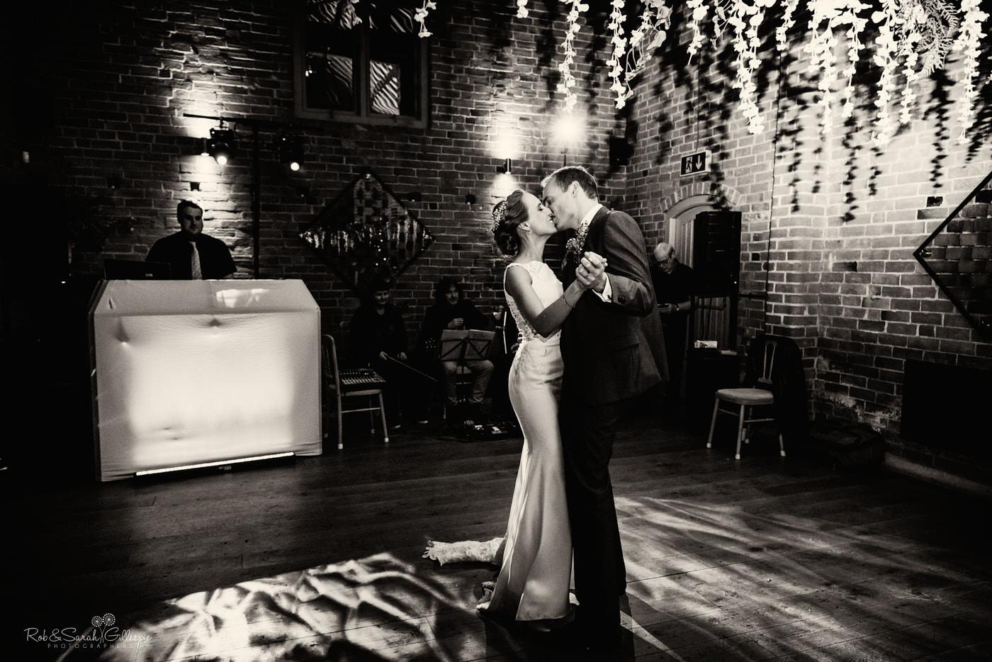 Swallows Nest Barn wedding first dance