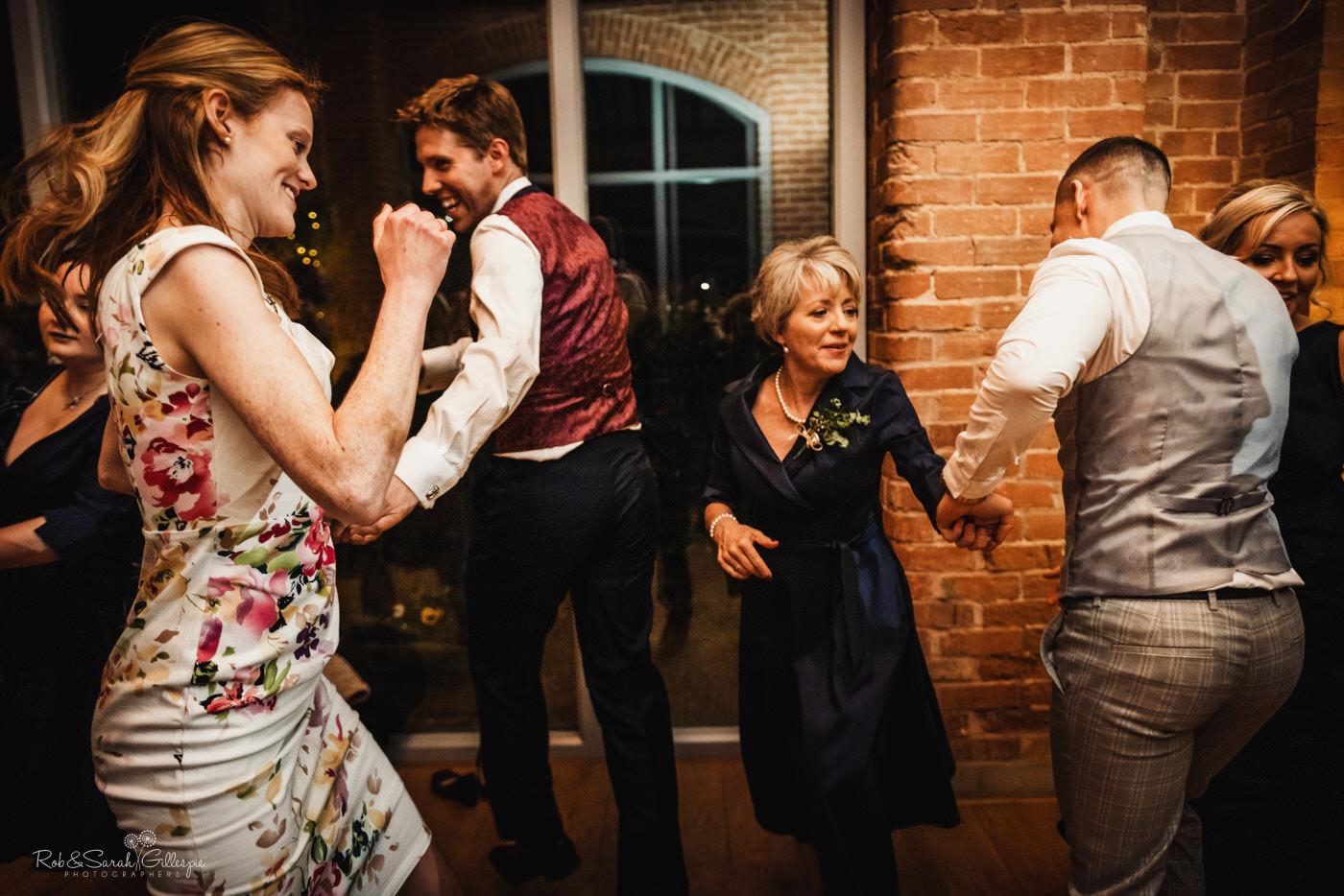 Swallows Nest Barn ceilidh dancing