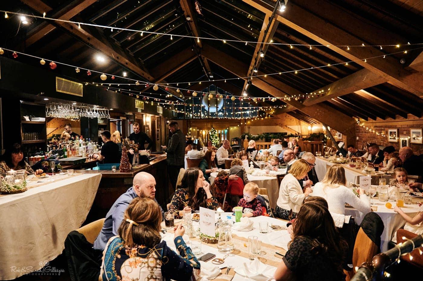 Wedding reception at Cox's Yard in Stratford-upon-Avon