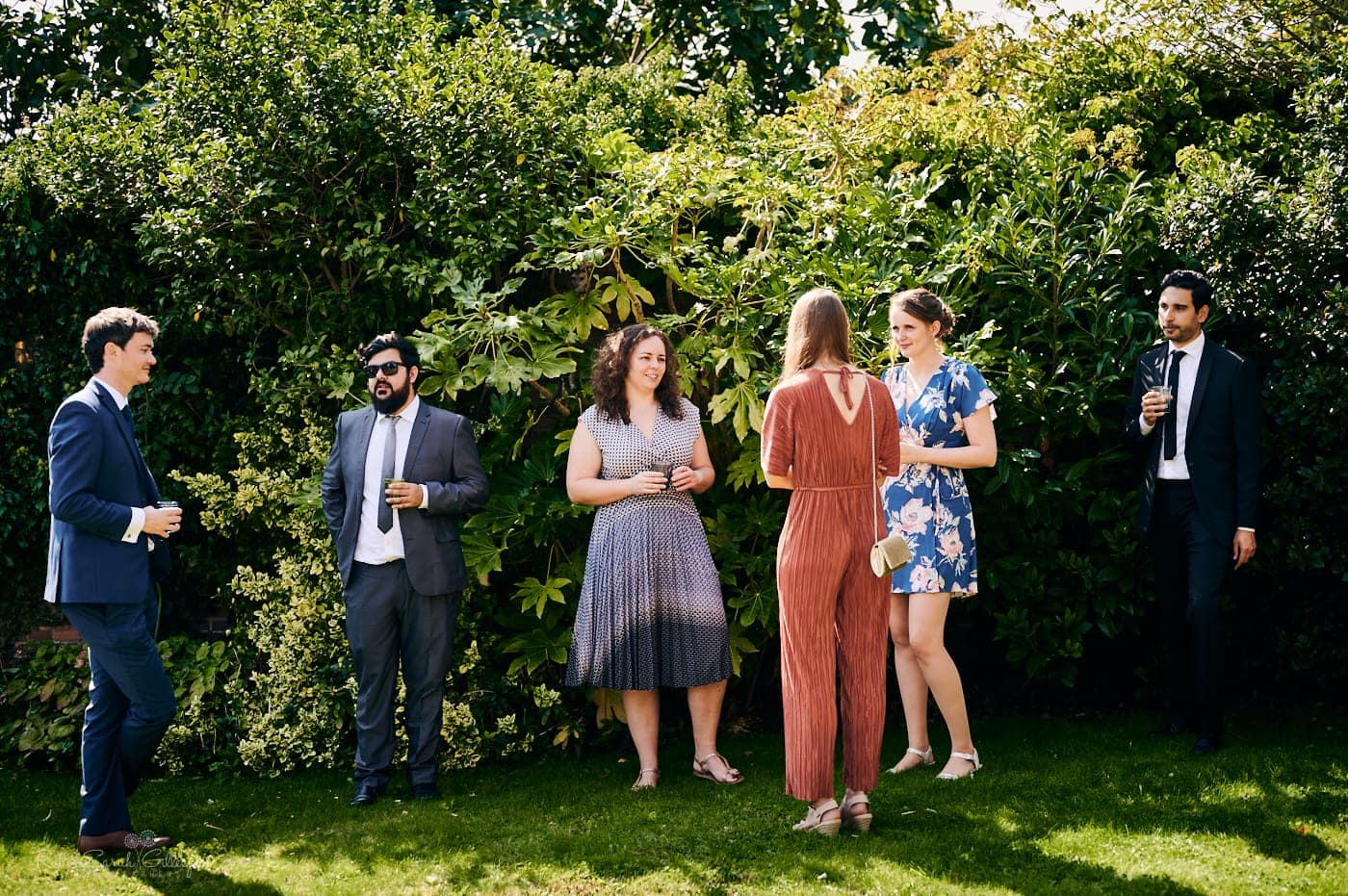 Small wedding reception at Mallory Court