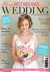 Cover of Your West Midlands Wedding Magazine featuring photography by Rob & Sarah Gillespie